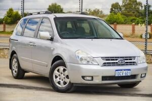 2009 Kia Carnival VQ MY10 EXE Silver 4 Speed Sports Automatic Wagon Kenwick Gosnells Area Preview