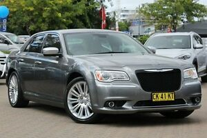 2012 Chrysler 300 MY12 C Grey 5 Speed Automatic Sedan Zetland Inner Sydney Preview
