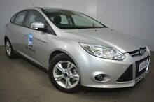 2015 Ford Focus LW MKII MY14 Trend PwrShift Silver 6 Speed Sports Automatic Dual Clutch Hatchback Mount Gambier Grant Area Preview