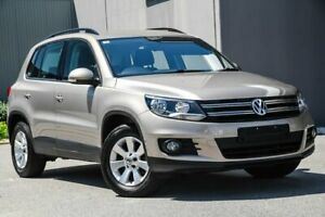 2012 Volkswagen Tiguan 5N MY12.5 132TSI Tiptronic 4MOTION Pacific Metallic Beige 6 Speed