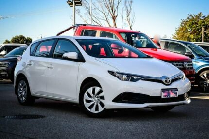 2017 Toyota Corolla ZRE182R Ascent S-CVT White 7 Speed Constant Variable Hatchback Myaree Melville Area Preview