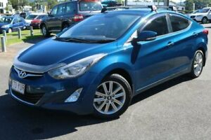 2014 Hyundai Elantra MD3 Trophy Blue 6 Speed Sports Automatic Sedan Earlville Cairns City Preview