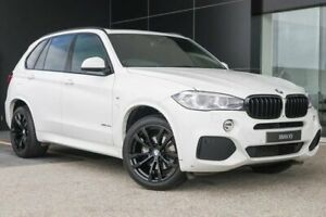 2015 BMW X5 F15 xDrive30d Alpine White 8 Speed Sports Automatic Wagon Wangara Wanneroo Area Preview