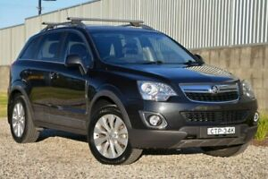 2014 Holden Captiva CG MY14 5 LT Black 6 Speed Manual Wagon Wyong Wyong Area Preview
