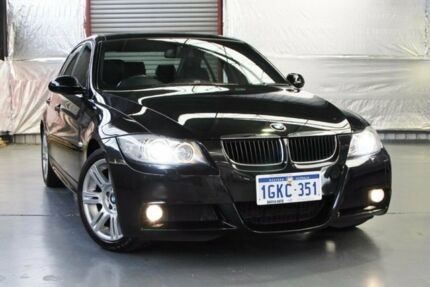 2008 BMW 320i E90 MY08 Executive Steptronic Black 6 Speed Sports Automatic Sedan Myaree Melville Area Preview