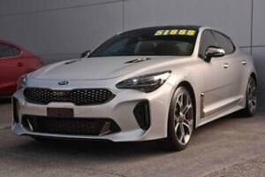 2017 Kia Stinger CK MY18 GT Fastback Silver 8 Speed Sports Automatic Sedan Capalaba Brisbane South East Preview