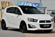 2014 Holden Barina TM MY14 RS White 6 Speed Sports Automatic Hatchback Ferntree Gully Knox Area Preview