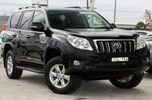 2012 Toyota Landcruiser Prado KDJ150R GXL Black 5 Speed Sports Automatic Wagon Gymea Sutherland Area Preview