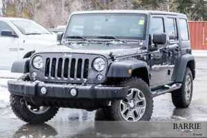 2016 Jeep Wrangler Unlimited ***RUBICON***LEATHER***NAVI***2 TOP