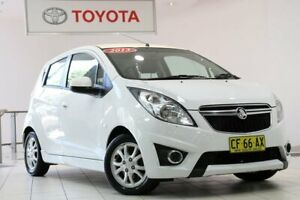 2013 Holden Barina Spark MJ MY13 CD White 5 Speed Manual Hatchback Waterloo Inner Sydney Preview