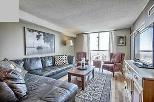 ALL INCLUSIVE, Large 1350SF, 2+2bdr, 2 mins walk to Finch subway
