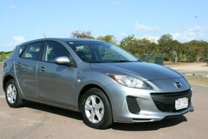 2013 Mazda 3 BL10F2 MY13 Neo Activematic Silver 5 Speed Sports Automatic Hatchback Townsville Townsville City Preview