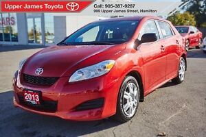 2013 Toyota Matrix Our hottest selling vehicle!