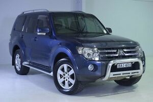 2006 Mitsubishi Pajero NS VR-X Blue 5 Speed Sports Automatic Wagon Wadalba Wyong Area Preview