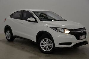 2016 Honda HR-V MY16 VTi White 1 Speed Constant Variable Hatchback Mansfield Brisbane South East Preview