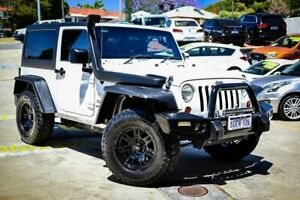 2012 Jeep Wrangler JK MY2012 Sport White 6 Speed Manual Softtop Myaree Melville Area Preview