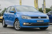 2015 Volkswagen Polo 6R MY16 81TSI DSG Comfortline Blue 7 Speed Sports Automatic Dual Clutch Pearce Woden Valley Preview