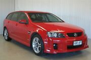 2009 Holden Commodore VE MY10 SV6 Red 6 Speed Automatic Sportswagon Kadina Copper Coast Preview