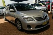 2013 Toyota Corolla ZRE152R Ascent Silver 4 Speed Automatic Sedan Minchinbury Blacktown Area Preview