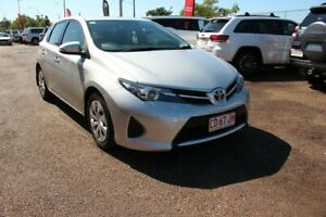 2014 Toyota Corolla ZRE172R Ascent Silver Pearl 6 Speed Manual Hatchback The Gardens Darwin City Preview