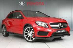 2015 Mercedes-Benz GLA45 AMG 4Matic X156 MY15 Red 7 Speed Auto Dual Clutch Wagon Glebe Inner Sydney Preview