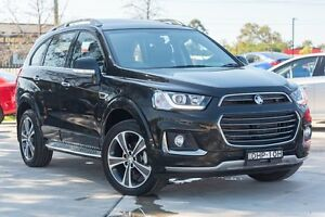 2016 Holden Captiva CG MY16 LTZ AWD Carbon Flash Black 6 Speed Sports Automatic Wagon Penrith Penrith Area Preview