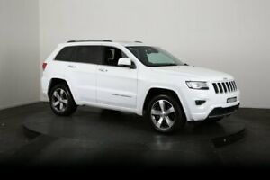2013 Jeep Grand Cherokee WK MY13 Overland (4x4) White 5 Speed Automatic Wagon McGraths Hill Hawkesbury Area Preview