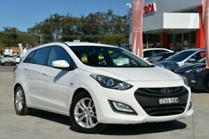 2012 Hyundai i30 GD Active 1.6 CRDi White 6 Speed Automatic Hatchback Gosford Gosford Area Preview
