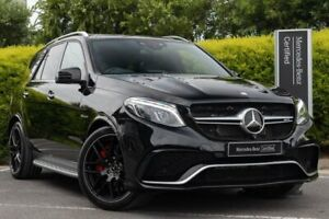 2015 Mercedes-Benz GLE-Class W166 GLE63 AMG SPEEDSHIFT PLUS 4MATIC S Black 7 Speed Narre Warren Casey Area Preview