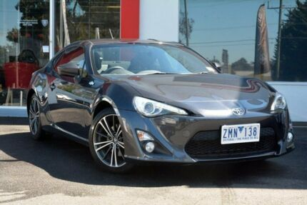 2012 Toyota 86 ZN6 GTS Grey 6 Speed Manual Coupe