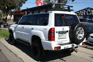 2007 Nissan Patrol GU 6 MY08 ST White 4 Speed Automatic Wagon Altona North Hobsons Bay Area Preview