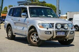 2002 Mitsubishi Pajero NM MY2002 Exceed Silver 5 Speed Sports Automatic Wagon