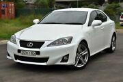 2012 Lexus IS250 GSE20R MY11 X Special Edition White 6 Speed Auto Sequential Sedan Granville Parramatta Area Preview