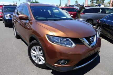 2016 Nissan X-Trail T32 ST-L X-tronic 2WD Brown 7 Speed Constant Variable Wagon