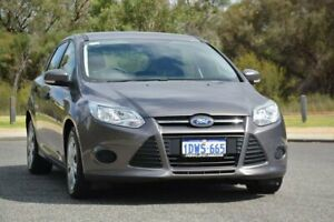 2012 Ford Focus LW Ambiente PwrShift Brown 6 Speed Sports Automatic Dual Clutch Hatchback