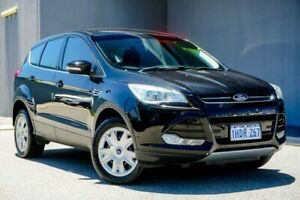 2013 Ford Kuga TF Ambiente AWD Black 6 Speed Sports Automatic Wagon Osborne Park Stirling Area Preview