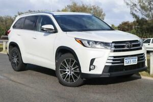 2017 Toyota Kluger GSU55R Grande AWD Crystal Pearl 8 Speed Sports Automatic Wagon Clarkson Wanneroo Area Preview