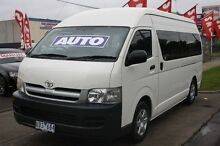 2006 Toyota Hiace TRH223R Commuter High Roof Super LWB White 4 Speed Automatic Bus Altona North Hobsons Bay Area Preview