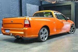 2010 Ford Falcon FG XR6 Turbo Ute Super Cab 50th Anniversary Orange 6 Speed Manual Utility