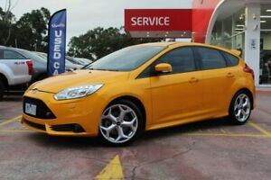 2012 Ford Focus LW MkII ST Orange 6 Speed Manual Hatchback Dandenong Greater Dandenong Preview