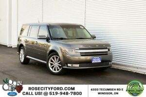 2015 Ford Flex Limited AWD / ACCIDENT FREE / BACK-UP CAM / HEATE