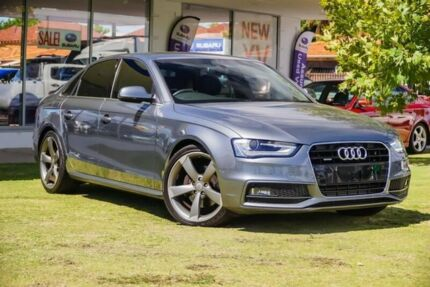 2013 Audi A4 B8 8K MY13 S tronic quattro Grey 7 Speed Sports Automatic Dual Clutch Sedan Victoria Park Victoria Park Area Preview