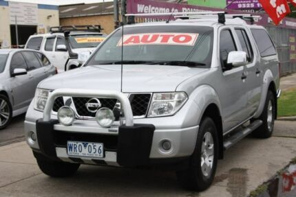 2008 Nissan Navara D40 ST-X Silver 5 Speed Automatic Utility Altona North Hobsons Bay Area Preview