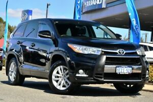 2015 Toyota Kluger GSU55R GX AWD Black 6 Speed Sports Automatic Wagon Melville Melville Area Preview