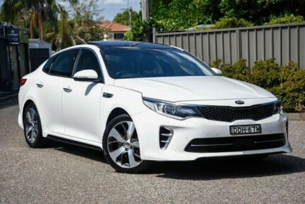 2016 Kia Optima JF MY16 GT White 6 Speed Sports Automatic Sedan Greenacre Bankstown Area Preview