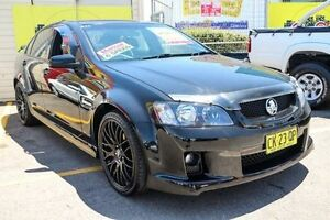 2007 Holden Commodore VE SV6 Black 6 Speed Manual Sedan Colyton Penrith Area Preview