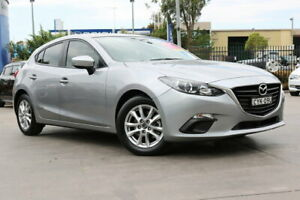 2015 Mazda 3 BM5478 Neo SKYACTIV-Drive Silver 6 Speed Sports Automatic Hatchback Penrith Penrith Area Preview