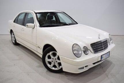 2002 Mercedes-Benz E200 Kompressor W210 Classic Kompressor White 5 Speed Sports Automatic Sedan