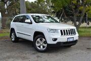 2012 Jeep Grand Cherokee WK MY2012 Laredo White 5 Speed Sports Automatic Wagon Gosnells Gosnells Area Preview