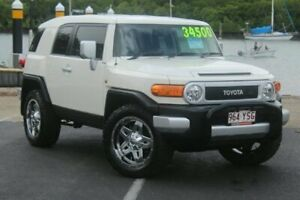 2014 Toyota FJ Cruiser GSJ15R MY14 White 5 Speed Automatic Wagon Portsmith Cairns City Preview
